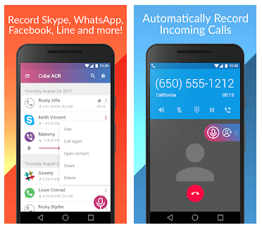 Best Call Recording Apps - Cube Call Recorder ACR