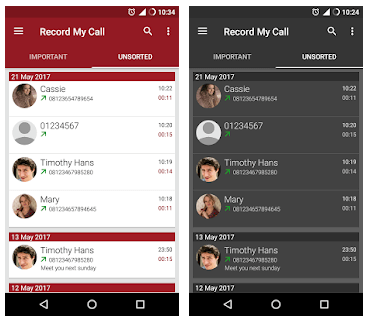 Best Call Recording Apps - RMC: Android Call Recorder