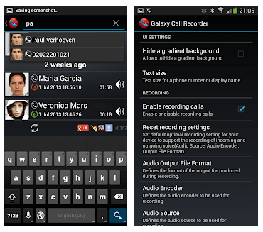 Best Call Recording Apps - Galaxy Call Recorder