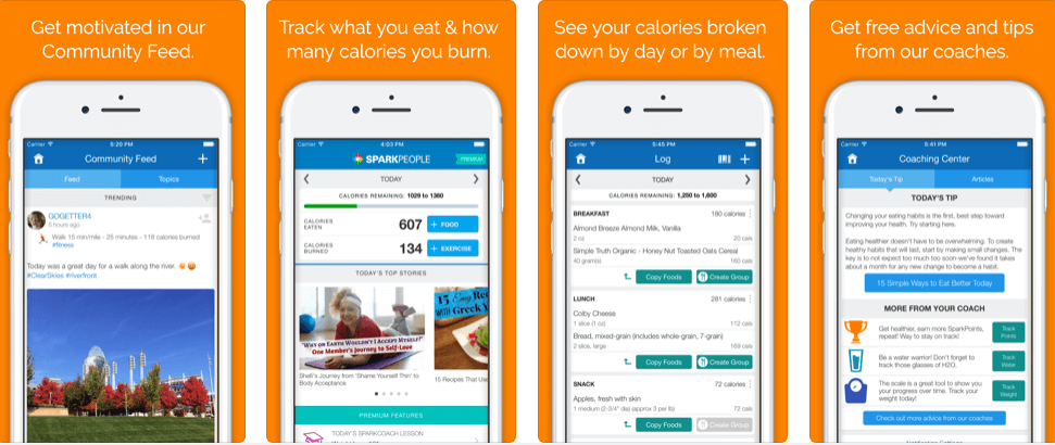 Best Weight Loss Apps - SparkPeople