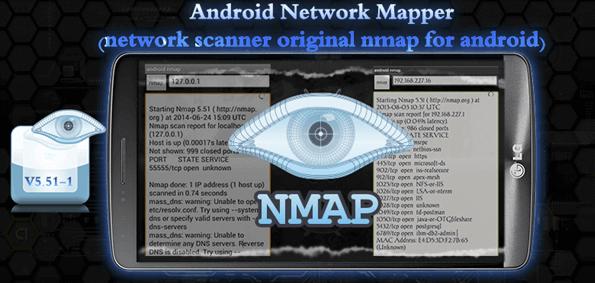 Best Hacking Apps -  Nmap