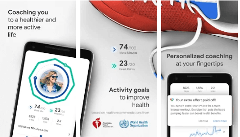 Best Running Apps - Google Fit