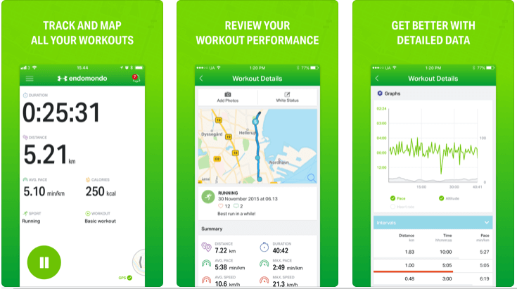 Endomondo - Best Running Apps