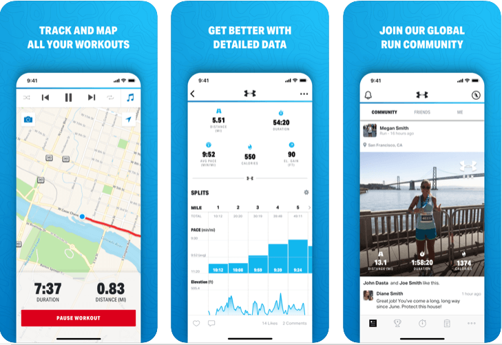MapMyRun - Best Running Apps