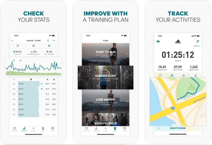 Runtastic Fitness Running App