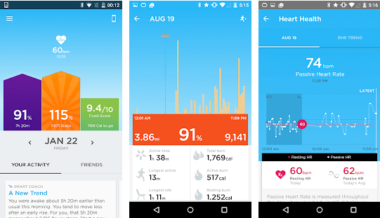 UP - Best Calorie Tracker Apps