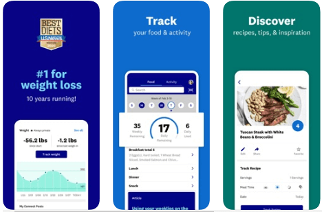 Weight Watchers Reimagined - Best Calorie counter Apps