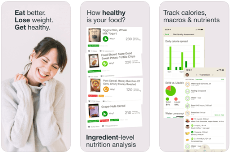 Fooducate - Best Calorie counter Apps