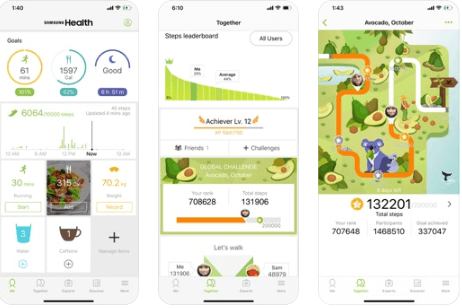 Samsung Health - Best Calorie counter Apps