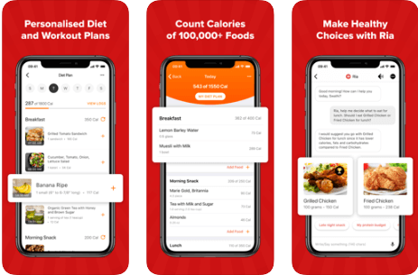 HealthifyMe - Best Calorie Counter Apps