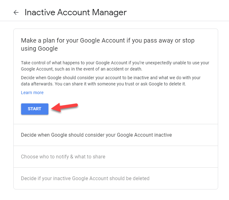 Automatically Delete Your Inactive Google Account