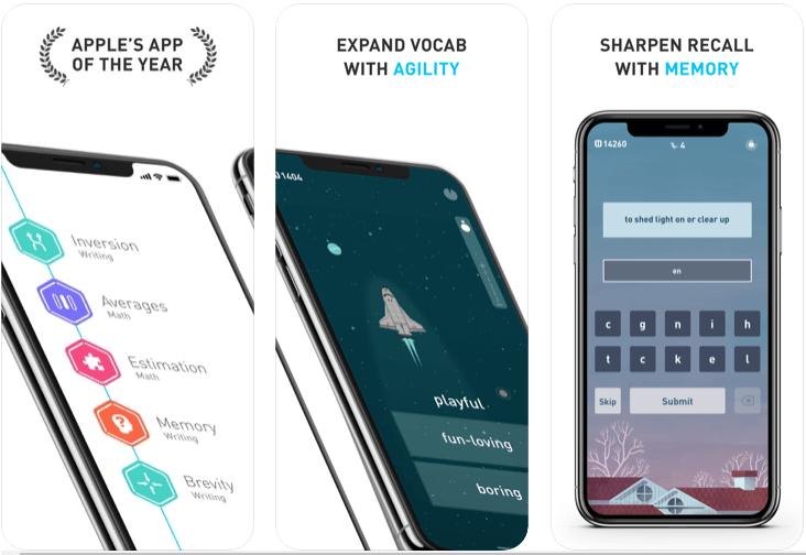Elevate Brain Training - Best Apple Watch Games