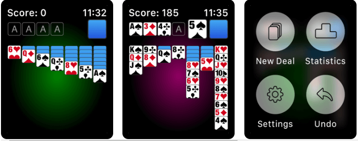 Solitaire the Game - Best Apple Watch Games