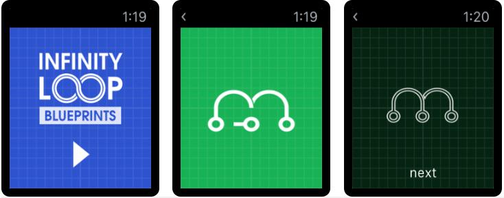 Infinity Loops: Blueprints - Best Apple Watch Games