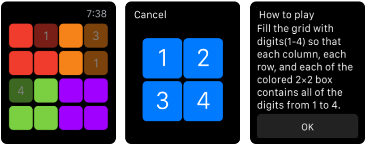Sudoku - Best Apple Watch Games