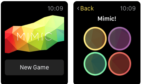 Mimic the Game - Best Apple Watch Games