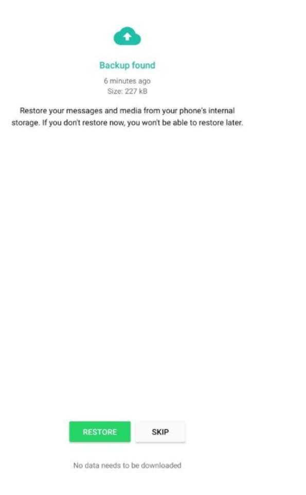 Cách xem tin nhắn WhatsApp đã xóa trên Android 2