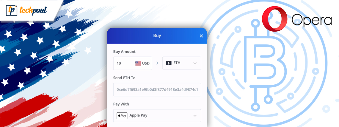 Opera Users in US Can Now Buy Cryptocurrencies Using Apple Pay