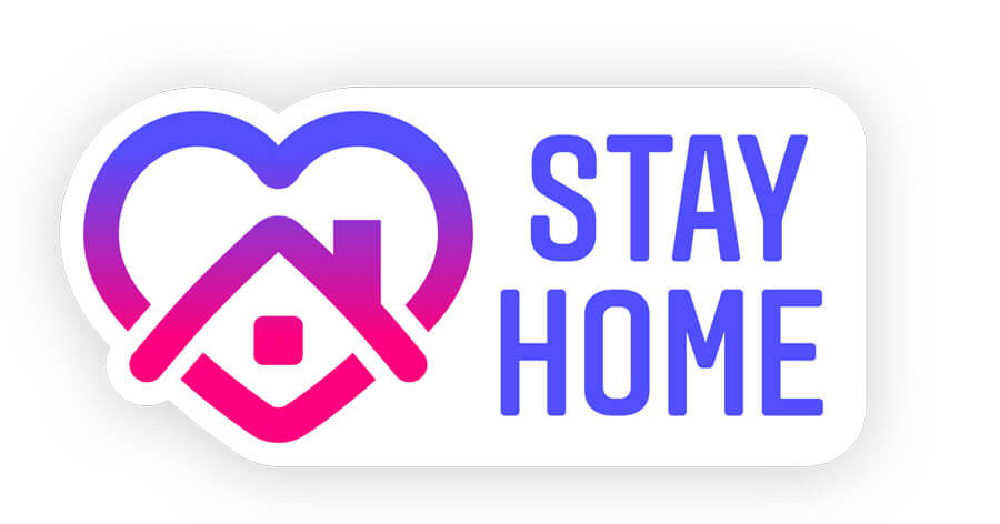 Stay Home - New Instagram Sticker For Promoting Social Distancing