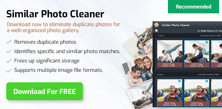 Similar Photo Cleaner - Best  Duplicate Photo Finder Tool