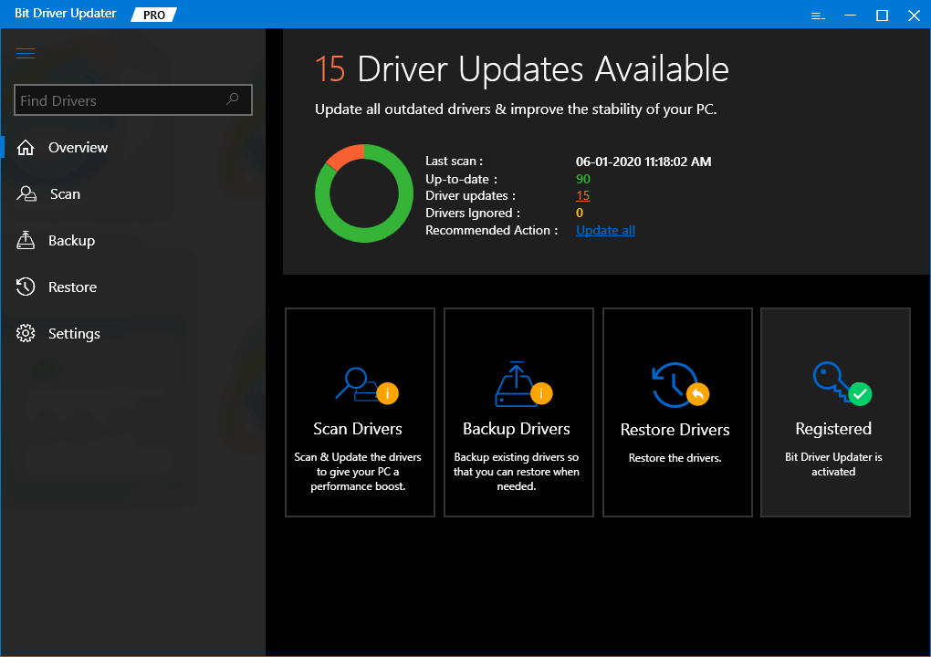 Update All Driver with Bit Driver Updater