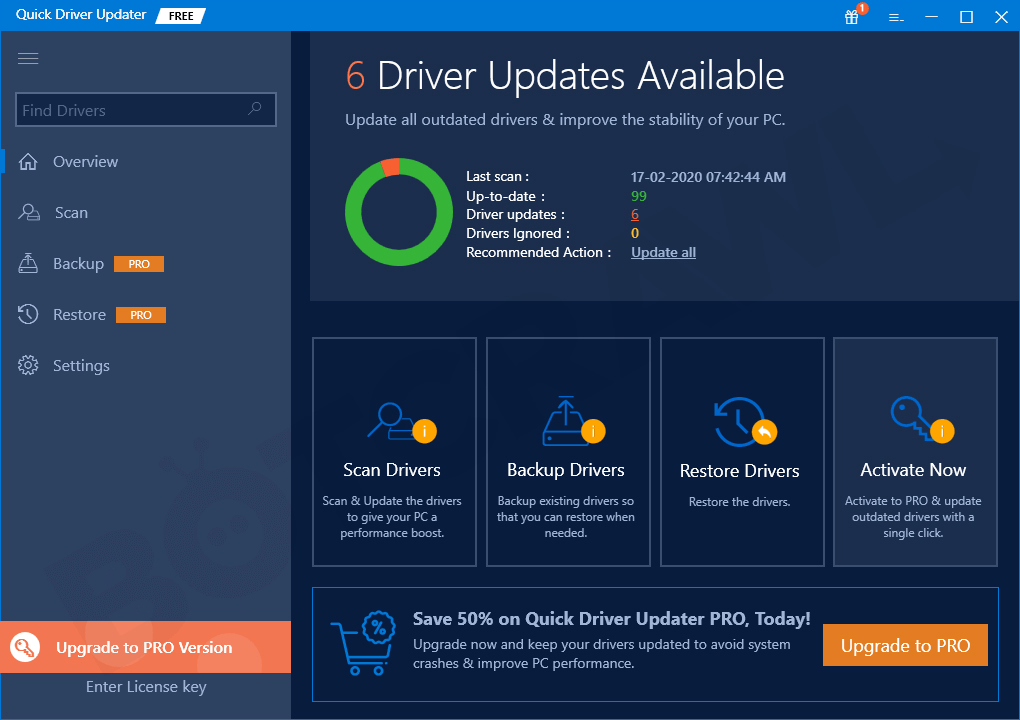 Quick Driver Updater - Best Driver Update Software