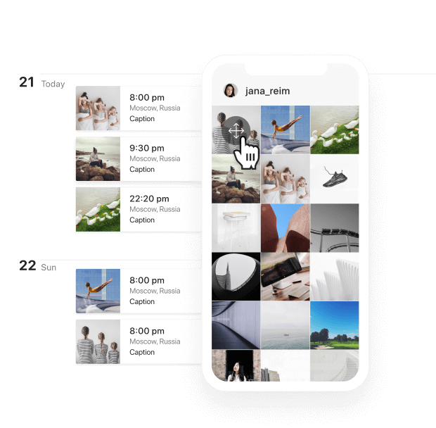 Style Your Instagram Grid Layout
