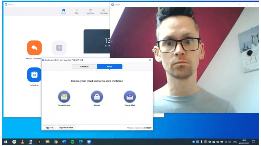 Install the Zoom Application For Video Conferencing