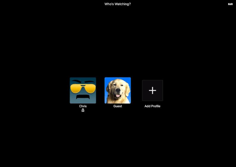 Set Up PIN Lock on Netflix Profile