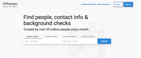 Track Someone's Location by Using WhitePages