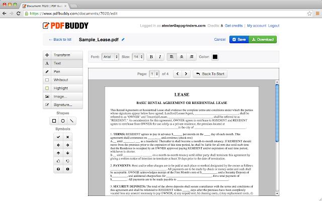 PDF Buddy - Best Free PDF Editor For Mac in 2020