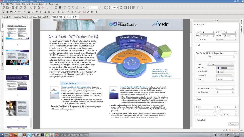 Master PDF Editor For Mac