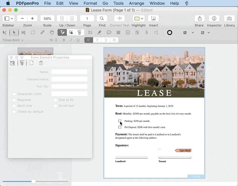 PDFpenPro - Best PDF File Editor Software