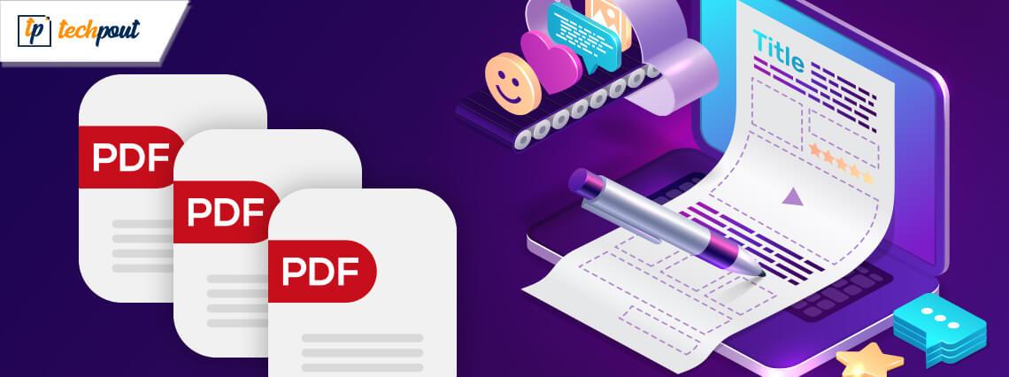 Best Free PDF Editors For Mac in 2021