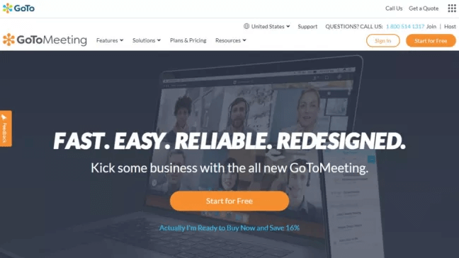 GoToMeeting - Best Video Conferencing Software