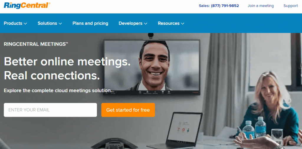 RingCentral Video - Best Video Conferencing Software
