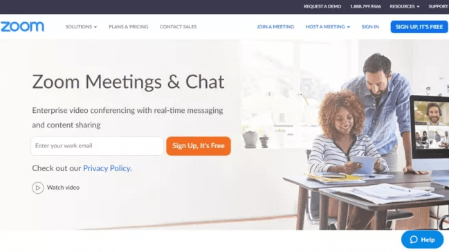 Zoom Meetings - Best Video Conferencing Software in 2020