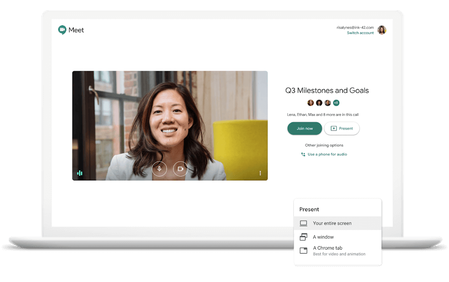 Google Hangouts Meet - Video Conferencing Software