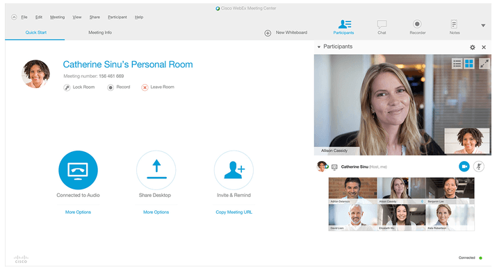 Cisco Webex Meetings - Video Conferencing Software