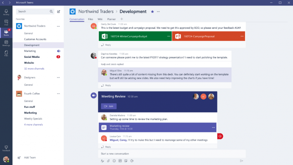 Microsoft Teams - Best Video Conferencing Software