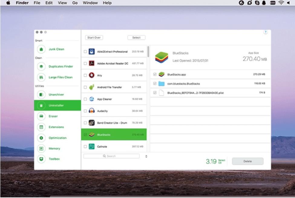 CleanGeeker - Best Uninstaller For Mac