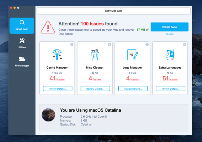 Easy Mac Care - Best File Shredder Software