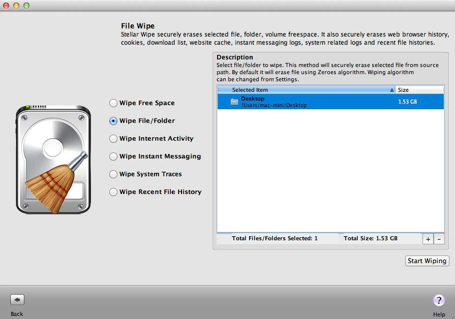 Stellar Wipe Mac - Best Mac File Shredder Software