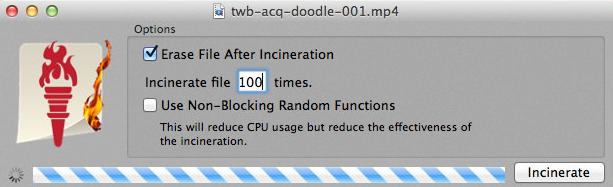 Incinerator - Best File Shredder Software For Mac