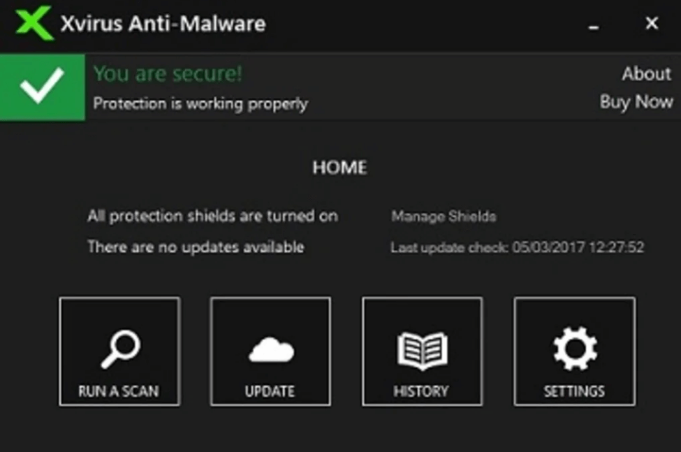 Xvirus Anti-Malware - Best Spyware Removal Tool