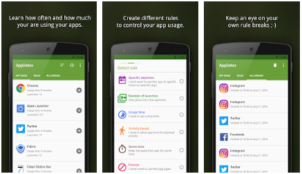 AppDetox - Best Android Smartphone Tracker App