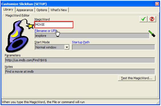 SlickRun - Best Program Launcher for Windows
