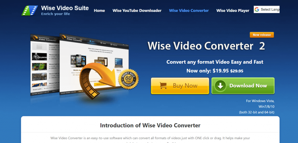 Wise Video Converter Software For Windows