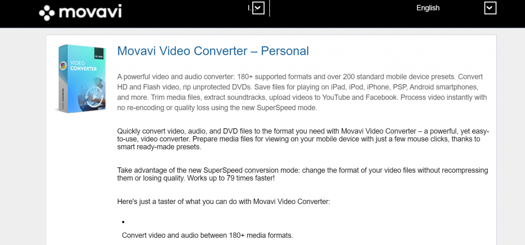 Movavi Video Converter Software For Windows