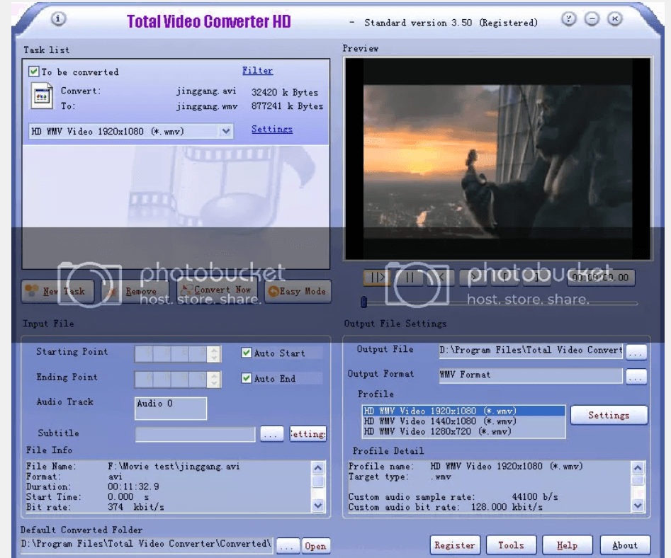 Total Video Converter Windows Software